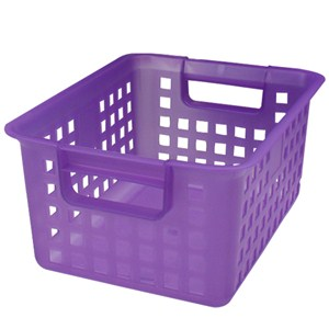 Bedroom Bin Purple