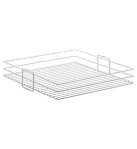 Center Mount Pantry Storage Baskets-Set 2 - White Image
