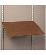 24 Inch Pre-Drilled Shoe Shelf - Chocolate Pear