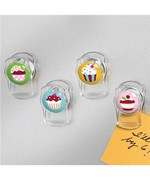 Cupcake Magnetic Clips