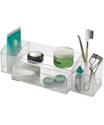 Acrylic Vanity Organizer with Drawer