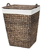 Woven Laundry Hamper - Water Hyacinth