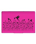 Pink Flip Case Card Holder