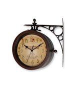 Two-Sided Antique Clock