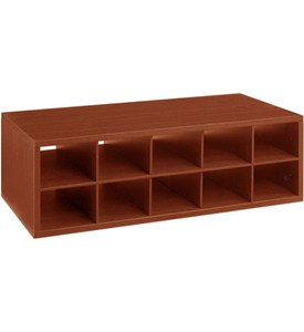 Double Hang Big O-Box Cubby Unit - Cherry Image