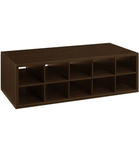 Double Hang Big O-Box Cubby Unit - Chocolate Pear Image