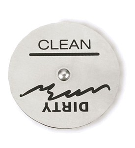 Stainless Steel Dishwasher Magnet Image