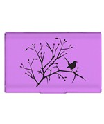 Purple Flip Case Card Holder