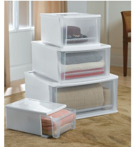 Plastic Drawer Organization Clothes