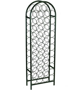 Steel Wire Wine Rack - 47 Bottle Image