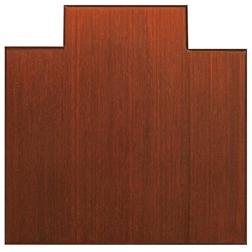 47 x 51 Bamboo Tri Fold Chair Mat in Chair Mats