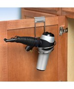 Over the Cabinet Hair Dryer Holder