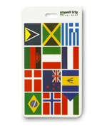International Flag Luggage Tag