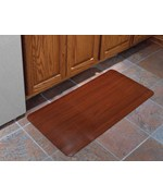 24x36 Inch Cushioned Floor Mat - Wood Grain