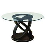 48 Inch Tempered Glass Dining Table