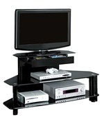 48 Inch TV Console - Glossy Black