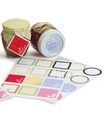 Round and Square Adhesive Gift Labels