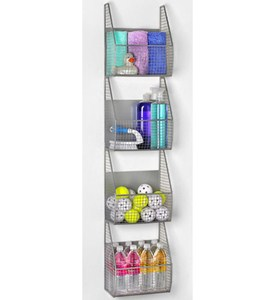 4-Tier Wall Mount Vertical Rack Image