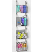 4-Tier Wall Mount Vertical Rack