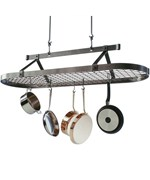 5 Foot Oval Hanging Pot Rack