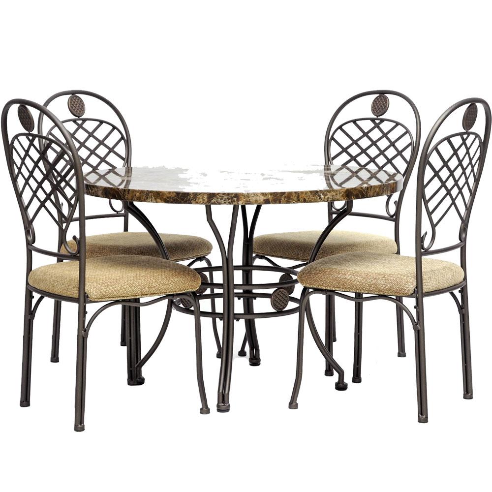 5 piece modern dining set in dinette sets for 5 piece dining set