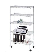 5 Shelf  Wire Shelving Unit