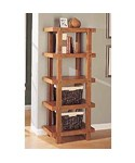 5 Tier Shelf - Display Books and Collectibles