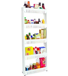 5 Tier Slide Out Pantry In Pull Out Pantry Organizers