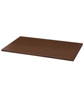 freedomRail 12 Inch Solid Shelf - Chocolate Pear Image