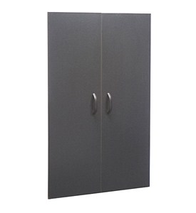 freedomRail Garage GO-Locker Doors - Granite Image