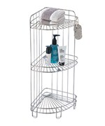 Corner Shower Caddy - Stainless Steel