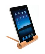 Portable iPad Stand - Bamboo