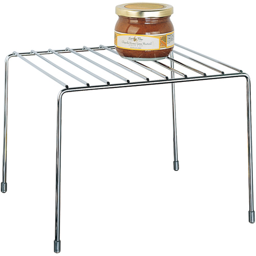 Kitchen Pantry Organizer Shelf - Chrome in Cabinet Shelves