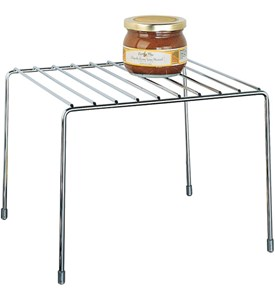 Kitchen Pantry Organizer Shelf - Chrome Image