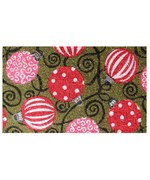 Decorative Coir Doormat - Ornaments
