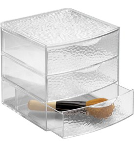 Acrylic Cosmetic Organizer with Drawers - Large Image