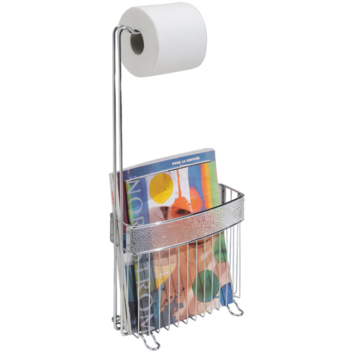 Rain Magazine Rack and Toilet Paper Holder Image