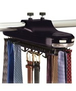 Motorized Revolving Tie Rack