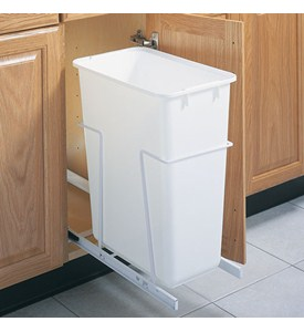 Pull-Out Cabinet Trash Can - 50 Quart Image