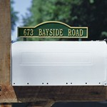 arch-two-sided-mailbox-address-marker Review