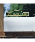 Arch Two-Sided Mailbox Address Marker