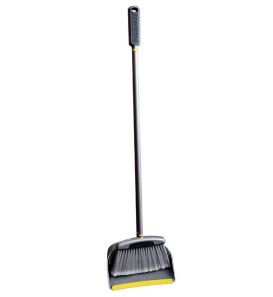Upright dustpan