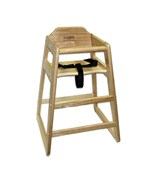 Wooden High Chair - Natural