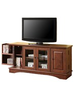 52 Inch Wood TV Stand with Media Storage by Walker Edison