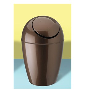 Umbra sway trash can bronze in small trash cans - Umbra mini trash can ...