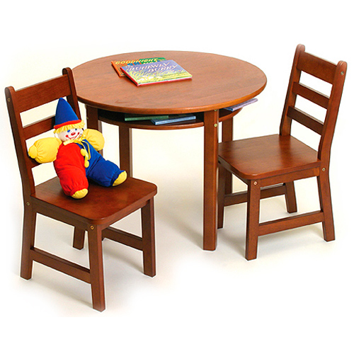 Childrens Table and Chairs Set - Cherry Image