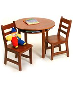 Childrens Table and Chairs Set - Cherry