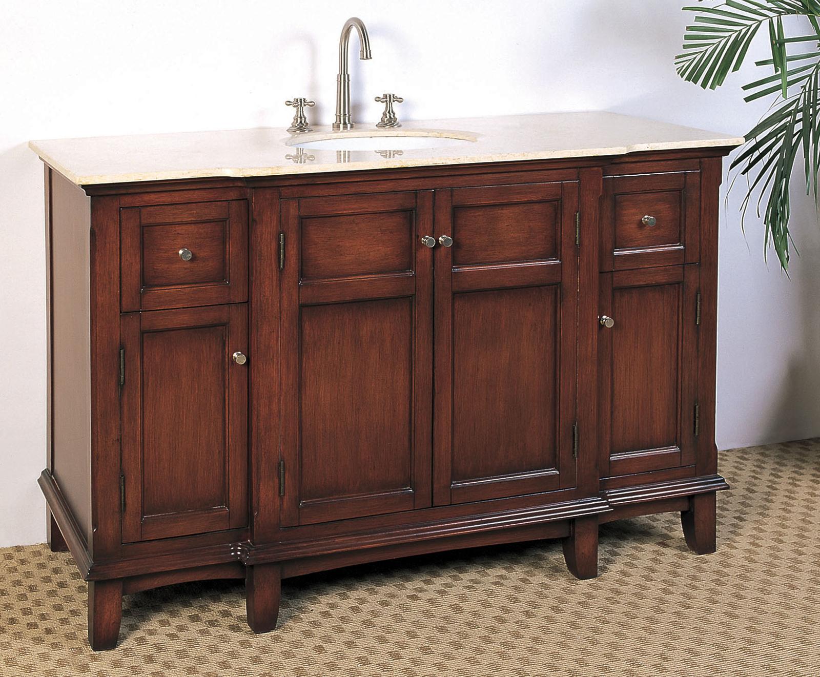 53 Inch Single Sink Bathroom Vanity Price: $1,239.99