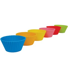 Silicone Muffin Cups - Standard (Set of 6) Image