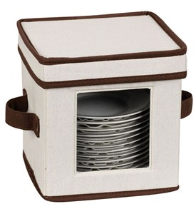 Vision Canvas Saucer Storage Box Image